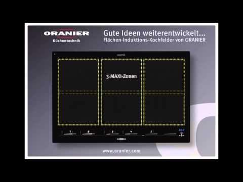 Flächen-Induktions-Kochfelder von ORANIER Küchentechnik GmbH - YouTube | {Kochfelder 26}