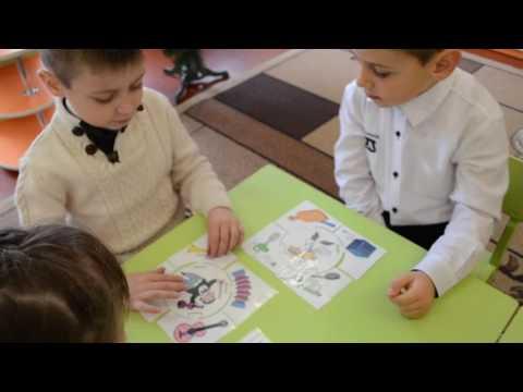 Дидактическая игра Что нужно для работы? детский сад