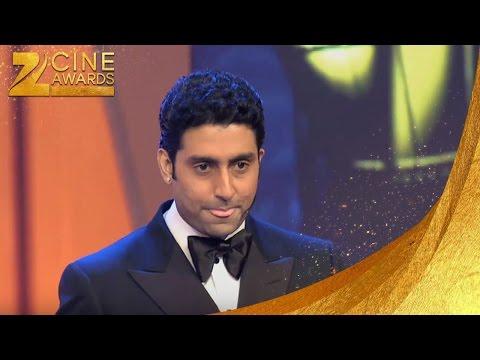 Zee Cine Awards 2013 Best Comic Actor Award Abhishek Bachchan