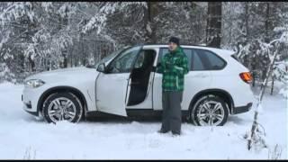 Тест-драйв BMW X5.  Телепрограмма Автомобиль.  12.01.14