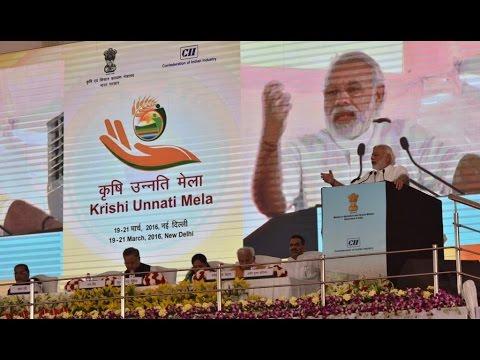 PM Modi's address at Krishi Unnati Mela in New Delhi