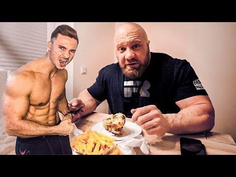Ich esse einen Tag lang wie FitnessOskar