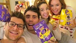 ZALFIE & JANYA EASTER EGG HUNT