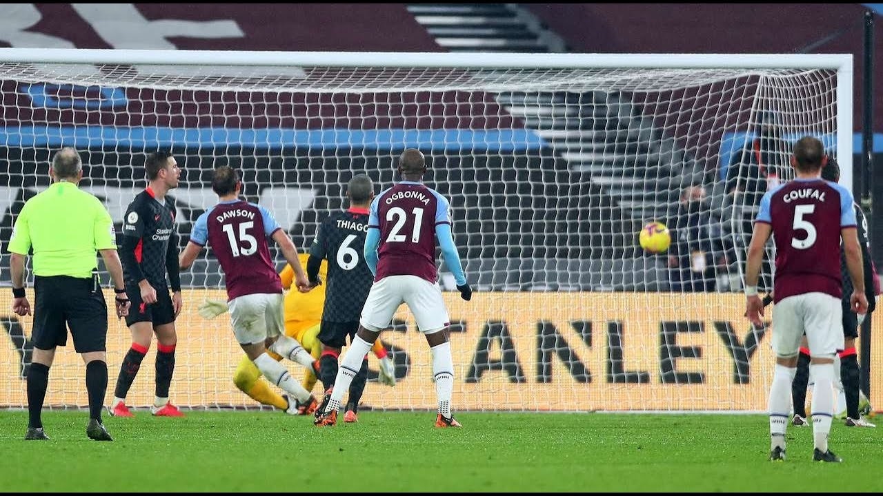 West Ham United vs Liverpool 1 3  All goals and highlights   23.01.2021   England Premier League