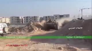 Танковая атака САА и ожесточённый бой в районе 1070 Алеппо, Сирия, Сенрябрь 2016