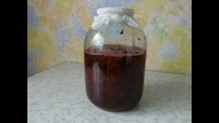 Домашнее вино из вишни. Этап 1