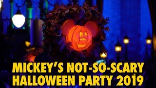 Mickey's Not-So-Scary Halloween Party 2019 | Magic Kingdom