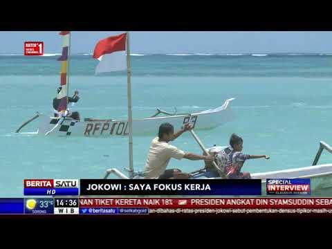 Special Interview with Claudius Boekan: Jokowi: Saya Fokus Kerja # 3