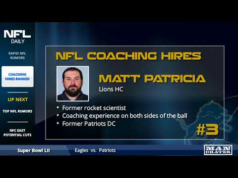 Latest NFL Rumors, New Coaching Hires Ranked, & Potential Salary Cap Cuts