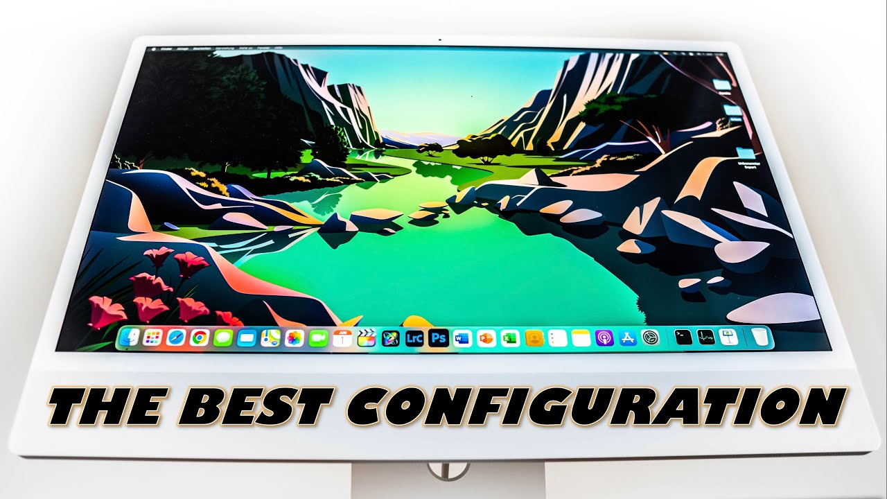 """M1 iMac 24"""": The BEST configuration 