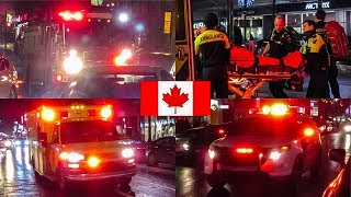 Montréal | Montréal Firefighters, Urgences-Santé EMS Advanced Life Support & Ambulance Responding