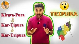 "Tripura or Kirata-Pura ❓    History of ""Tripura"" 🤗    Tripura Broadcast 🤘"