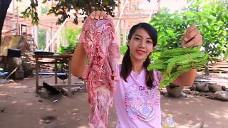 Yummy cooking beef with vegetable recipe - Primitive Natural Cook