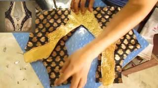 Prasanta Blouse Design AAA Drafting Stitching/Make Fashion Tutorial part 2 of 4