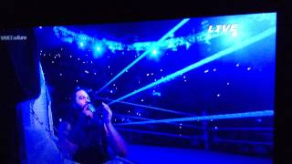 Bray Wyatt steals the undertakers entrance 2/22/15