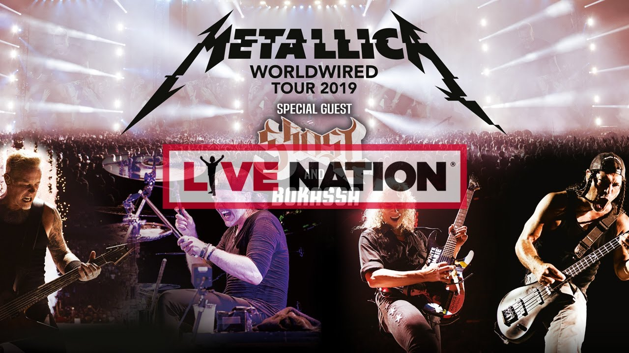 Metallica - Olympiastadion Berlin