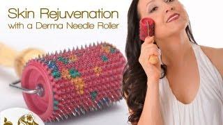 Skin Rejuvenation with a Derma Needle Roller