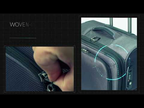 YKK's Woven-in Tough Zipper for Luggage