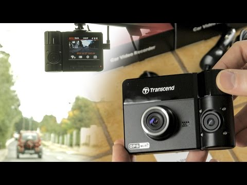 Transcend DrivePro DP 520 Review Footage