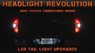 2014-2016 Toyota Tundra LED Reverse, Blinkers & License Plate Lights (3) | Headlight Revolution