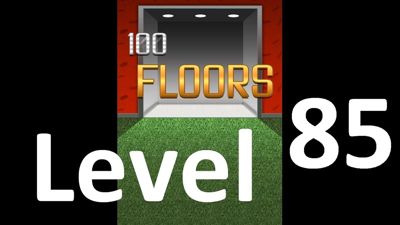 100 Floors Level 85 Solution Floor 85 Youtube