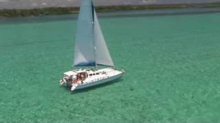 Mauritius catamaran cruises - Oceane & Aquarelle