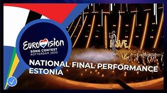 Uku Suviste - What Love Is - Estonia 🇪🇪 - National Final Performance - Eurovision 2020