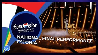 Uku Suviste - What Love Is - Estonia 🇪🇪 - National Final Performance - Eurovision 2020