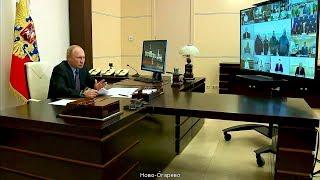 Владимиру Путину доложили о ходе работ по ликвидации ЧП на ТЭЦ-3 в Норильске
