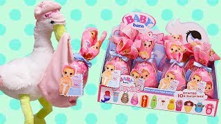 Baby Born Surprise Full Box ! Toys and Dolls Learning Video for Kids | SWTAD