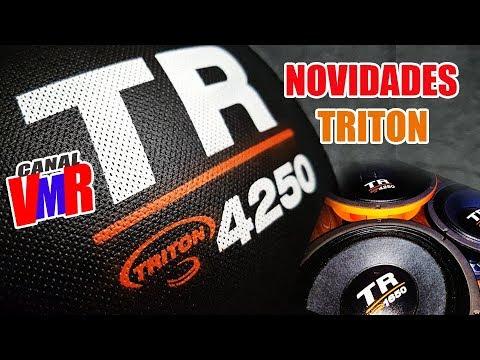 73b02dd47 Lançamento - Alto Falante Triton TR 1650 TR 2250 TR 4250 - YouTube