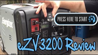 Energizer eZV3200P Review: Portable Inverter Generator W/ Remote Start & Wheels, Great For Camping