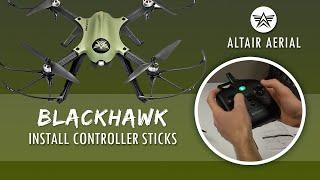 Altair Aerial Blackhawk - Install Analog Controller Sticks