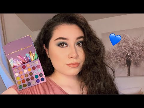 Colourpop x Kathleen Lights So Jaded Palette| Blue Makeup💙 thumbnail