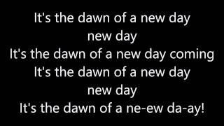 CFO$ - New Day Coming [Rock Version/WWE Theme Song] (Lyrics)
