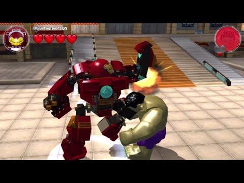 Lego Marvel's Avengers (PS Vita/3DS/Mobile) Hulkbuster vs Hulk - Free Play