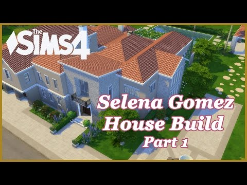 The Sims 4 - Selena Gomez Mansion! (Part 1)