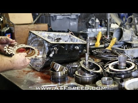 Toyota Supra built transmission failure in depth tear down - ATFspeed.com -