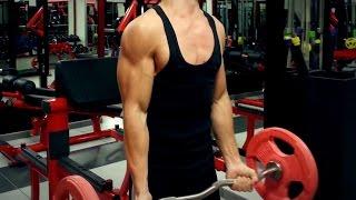 Insane Biceps Workout - 16 Year Old BodyBuilder