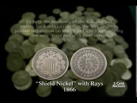 The Coin Show: Coin History - Nickels Part 1