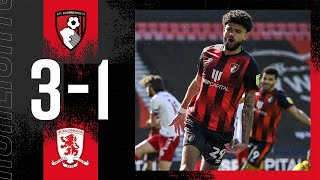 Billing nets another cracker in BIG win 💪 | AFC Bournemouth 3-1 Middlesbrough