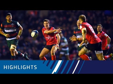Leicester Tigers v Ulster Rugby (P4) - Highlights 19.01.19