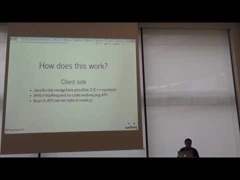 Lightning Talks Meeting C++ 2016 - Markus Goetz - a small tool to browse your backtraces