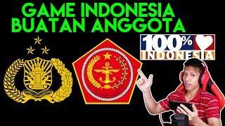 Game Buatan POLRI Dan TNI ! 100 Buatan Indonesia ! Keren PARAH !