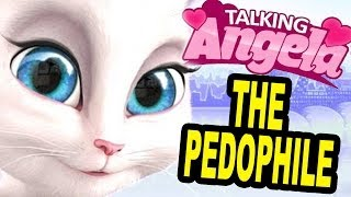 PEDOPHILE CAT GAME!! (Talking Angela)