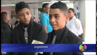 Niños del Cesar en campeonato de fútbol en Francia
