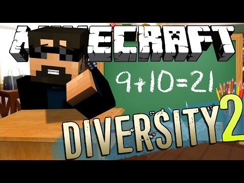 Minecraft: DIVERSITY 2   BACK TO SCHOOL!! [4]