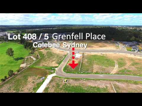 Lot 408 / 5 Grenfell place, Colebee Sydney