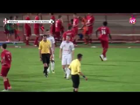 Football Match de préparation Olymipque de Valence contre Rhône-Vallées