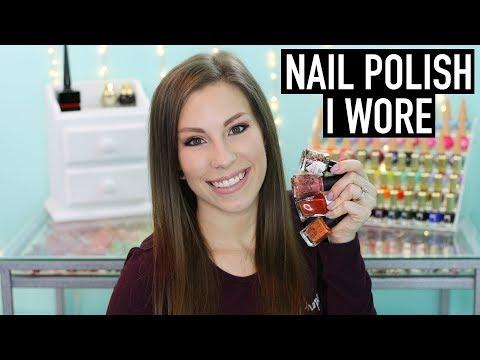 Nail Polish I Wore | October 2017